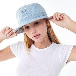 adidas Originals Overdye Tactile Blue Bucket Hat
